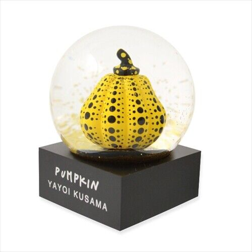 Yayoi Kusama  Pumpkin Snowglobe  Moma Design Store Limited from Japan