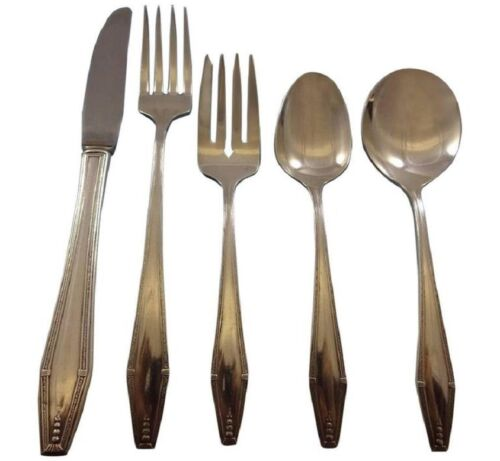 Formality by State House Sterling Silver Flatware Service Set 43 Pieces