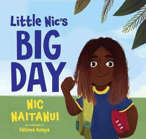 Little Nic's Big Day by Nic Naitanui Hardcover Book Free Shipping!