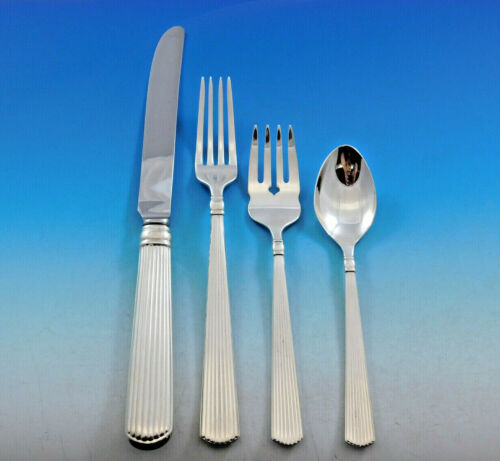 Ashmont by Reed & Barton Sterling Silver Dinner Flatware Set 8 Service 33 Pieces