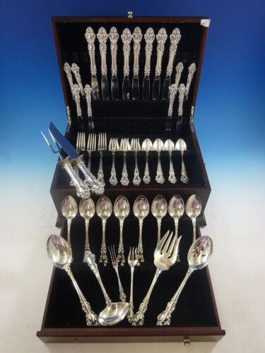 Spanish Baroque by Reed and Barton Sterling Silver Flatware Service 8 Set Dinner