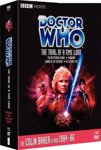 DR WHO 143 vol. 1-4 (1986) TRIAL OF A TIME LORD Doctor Colin Baker R2 DVD sp