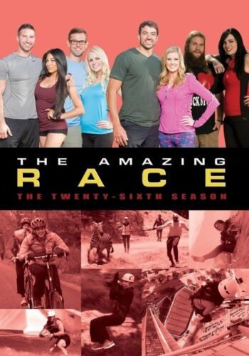 THE AMAZING RACE 26 (2015): DATING COUPLES - US TV Season Series - R1 DVD sp