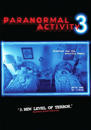 Paranormal Activity 3 DVD NEW
