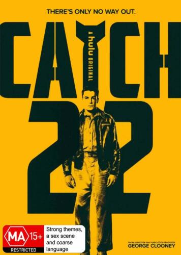CATCH 22 (2019): George Clooney - TV Season MiniSeries - NEW Au Rg4 DVD