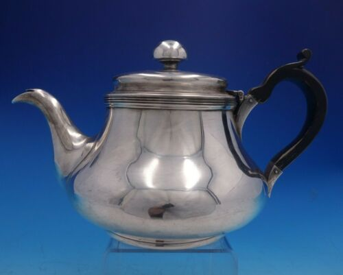 James Fray Irish Sterling Silver Tea Pot w/ Black Wood Handle c.1816-1840 #4079