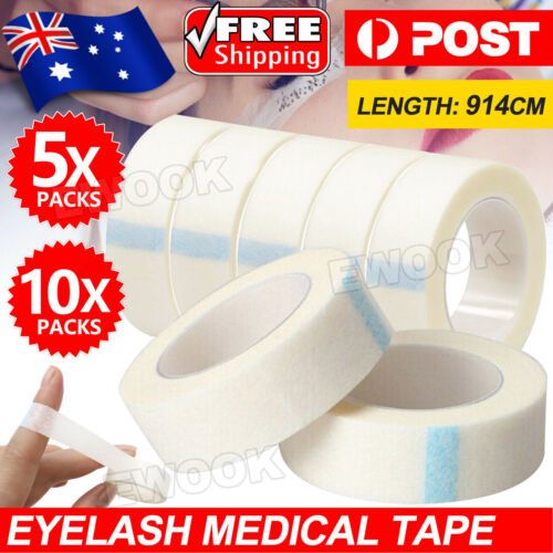 Up10x Professional Lash Extension Tool Micropore Eyelash Medical Tape Paper
