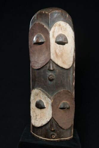 Bembe Alunga Owl Mask, D.R. Congo, Zambia, African Tribal Sculpture