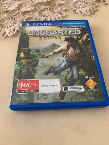 Uncharted Game  For Sony PS Vita In Great Condition Pal Australian Version