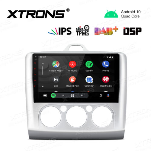 """XTRONS 9"""" IPS Android 10 Car Stereo GPS Radio DSP 4G Bluetooth For Ford Focus 2"""