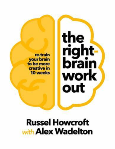 The Right-brain Workout by Russel Howcroft Paperback Book Free Shipping!