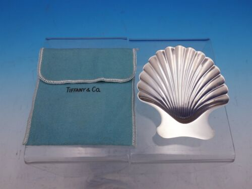 Shell & Thread by Tiffany & Co. Sterling Silver Candy Dish #22369 (#4461)
