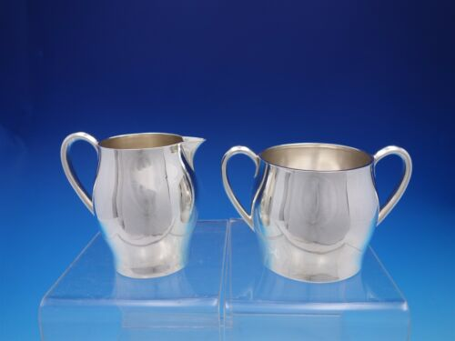 Faneuil by Tiffany & Co. Sterling Silver Sugar and Creamer Set Mark #260 (#4479)