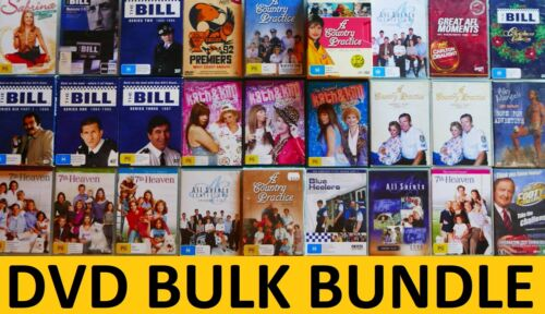 DVDs Bulk Bundle Aussie/US/UK TV Series: The Bill, Country Practice, All Saints!