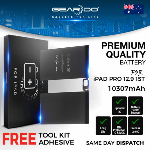 New Premium Geardo iPad Pro 12.9 1st Generation (2015) Battery 10307mAh Tools