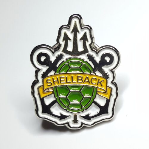 *RARE* US Navy Trusty Shellback Hat Pin - Crossing the line Pollywog  - USNNavy - 66533