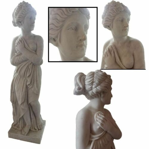# OUTLET # STATUA VENERE CANOVA IN VERO MARMO CLASSIC ANTIQUE MARBLE SCULPTURE