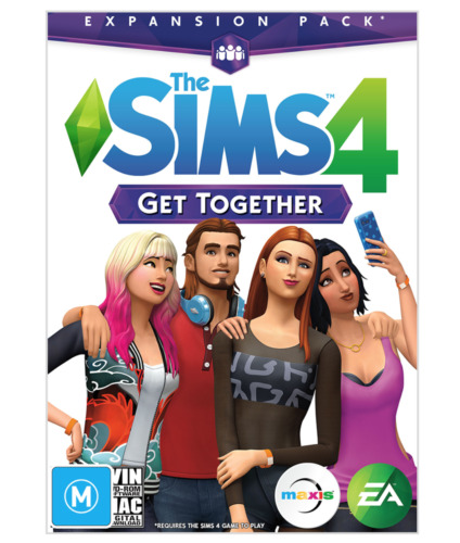 The Sims 4 Get Together Expansion Pack PC DVD ROM and Mac Download AU