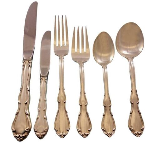 Fontana by Towle Sterling Silver Flatware Set for 12 Service 78 pieces