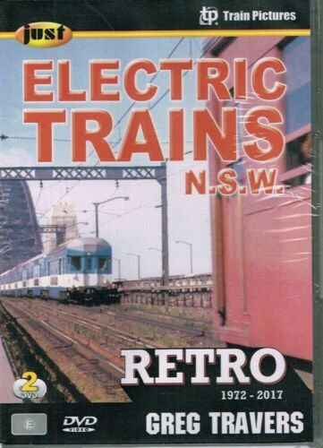 JUST ELECTRIC TRAINS NSW 2 disc DVD set