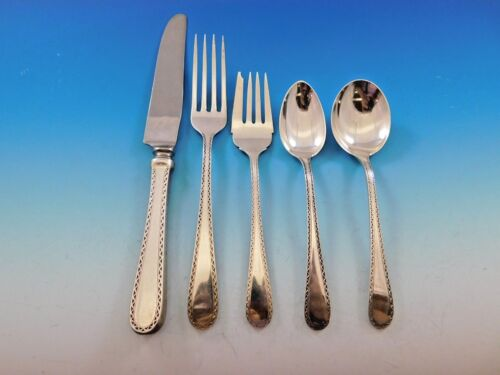 Winslow by Kirk Sterling Silver Flatware Set for 12 Service 64 Pieces