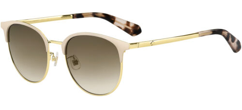 Occhiali da Sole Kate Spade DELACEY/F/S PINK GOLD/BROWN SHADED 54/19/140 donna