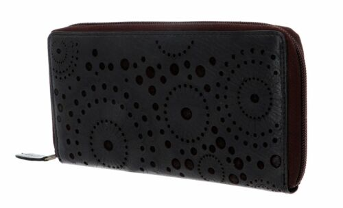bruno banani Zip Around Wallet Miami Zip Around Wallet Black / Brown