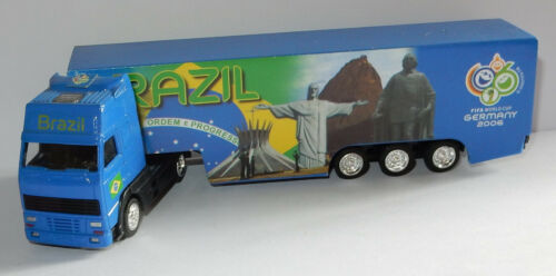 GRELL HO 1/87 CAMION VOLVO FH FIFA WORLD CUP GERMANY 2006 FOOTBALL BRAZIL