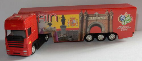 GRELL HO 1/87 CAMION IVECO FIFA WORLD CUP GERMANY 2006 FOOTBALL SPAIN