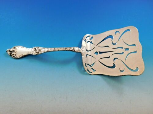 Les Cinq Fleurs by Reed and Barton Sterling Silver Asparagus Server Pcd Flowers