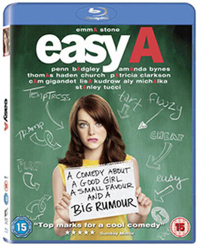 EASY A BLU-RAY [UK] NEW BLURAY