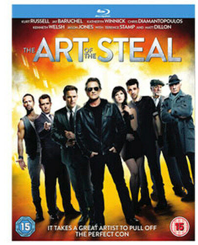 THE ART OF THE STEAL BLU-RAY [UK] NEW BLURAY