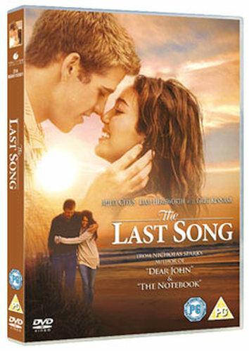 THE LAST SONG DVD [UK] NEW DVD