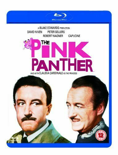 THE PINK PANTHER BLU-RAY [UK] NEW BLURAY