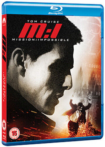 MISSION IMPOSSIBLE BLU-RAY [UK] NEW BLURAY