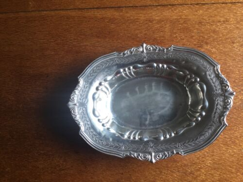 Sterling Graff Washbourne &Dunn Dish Repousse And Engraved