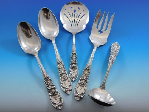 Richelieu by International Sterling Silver Essential Serving Set Large 5-piece