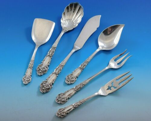 French Renaissance by R&B Sterling Silver Essential Serving Set Small 6-piece