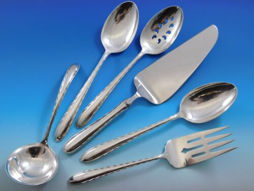 Silver Flutes by Towle Sterling Silver Essential Serving Set Large 6-piece