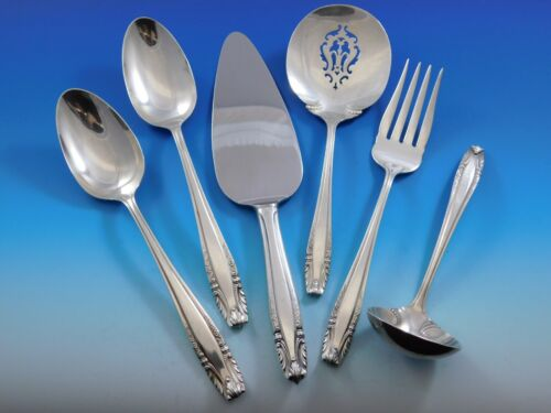 Stradivari by Wallace Sterling Silver Essential Serving Set Large 6-piece