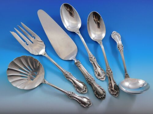 Wild Rose by International Sterling Silver Essential Serving Set Large 6-piece