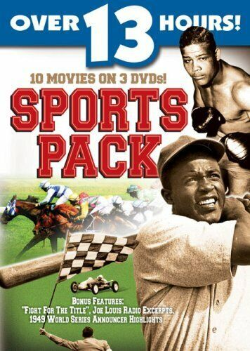 SPORTS PACK (3PC) NEW DVD