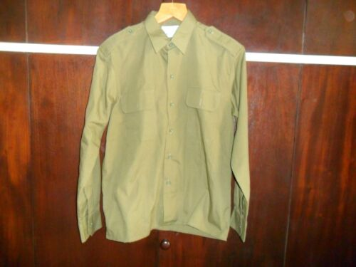 "Lot of 4 Idf Zahal Shirts Infantry Class ""A"" Alef Israeli Army Shirt Uniform ODOther Militaria - 135"