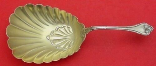 """Empire by Whiting Sterling Silver Cracker Scoop Gold Washed 7 7/8"""""""