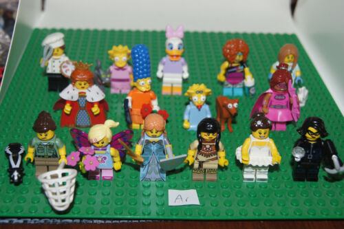 Lego Movie ROOTBEER BELLE Female Lady Dynamite Minifig Minifigure from 70812