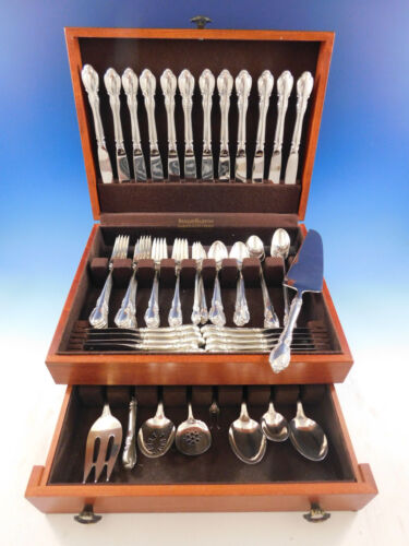Legato by Towle Sterling Silver Flatware Set for 12 Service 93 pieces