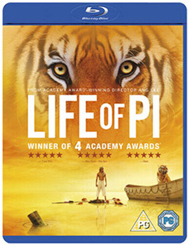 LIFE OF PI BLU-RAY [UK] NEW BLURAY