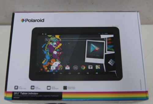 Polaroid 10.1-Inch Infinite Plus Dual Cam Android MID1047 Tablet (Faulty)