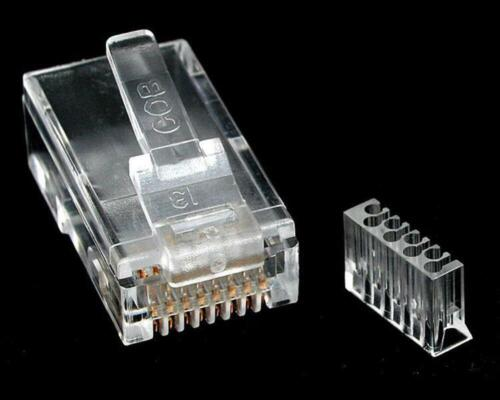 StarTech Cat 6 RJ45 Modular Plug for Solid Wire - 50 Pack