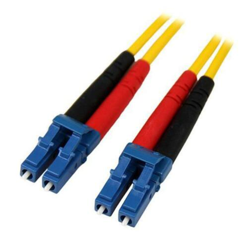 StarTech 4m Fiber Optic Cable - Single-Mode Duplex 9/125 LSZH - LC/LC